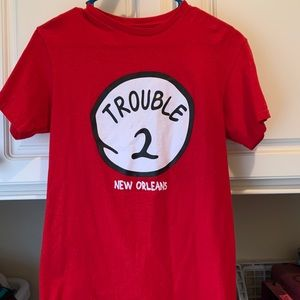 Red Trouble t-shirt from New Orleans